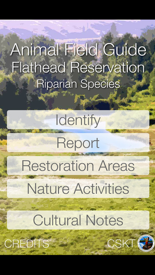 Animal Field Guide to the Flathead Reservation: Riparian Species