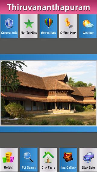 Thiruvananthapuram City Map Guide