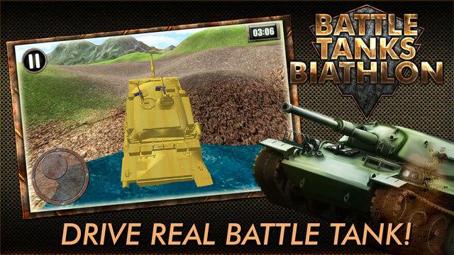 Battle Tanks Biathlon 3D