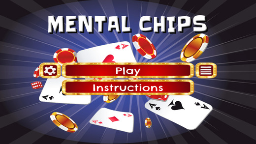 Mental Chips - HD - PRO - Shift Rows And Match Poker Chips Puzzle Game