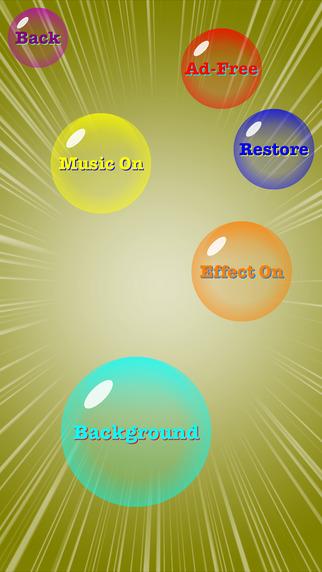 Crazy Bubble Games for iPhone/iPad screenshot
