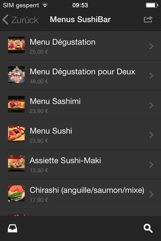 Koï Sushi-Bar screenshot 3