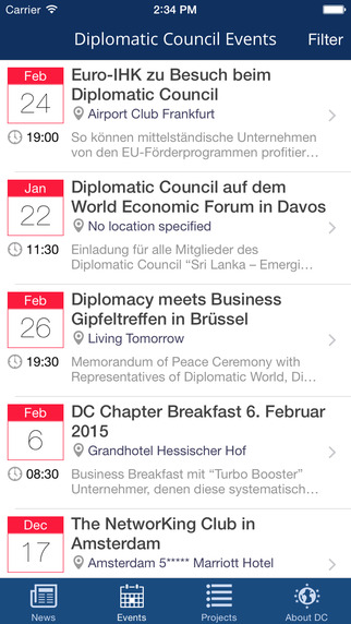 Diplomatic Council - Events and Charity Projects