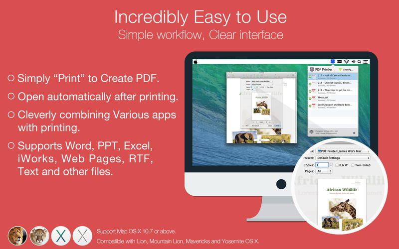 PDF Printer Screenshot - 3