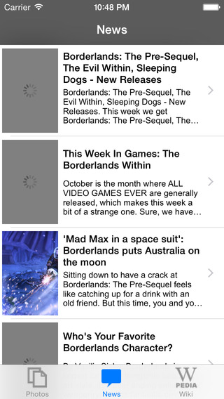 News for Borderlands Unofficial