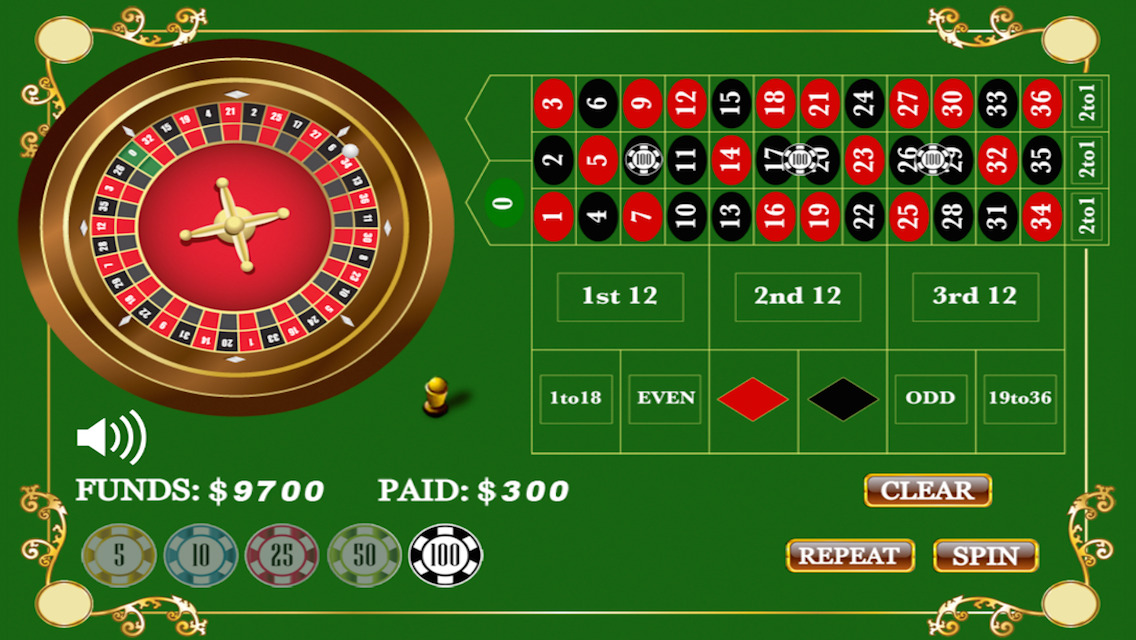 Roulette fun free games