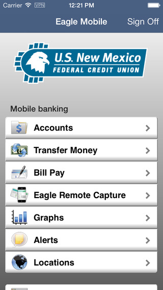 U.S. New Mexico Mobile Banking