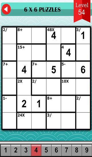 Mathdoku Guru Math Logic Puzzle to Train Your Brain