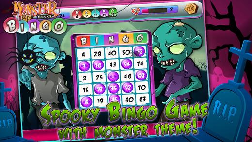 Monster Bingo Blitz - Fun Casino Game