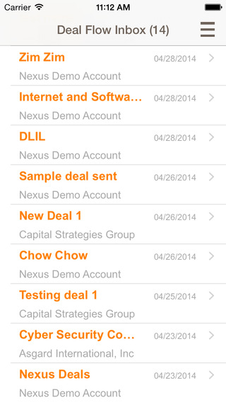 Intralinks DealNexus Mobile