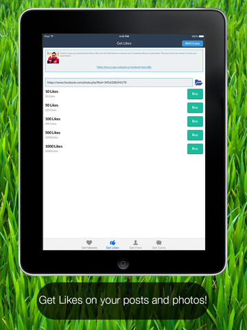 Faceboost Magic Liker - Get More Facebook Likes For Facebook Instakey Edition Screenshots