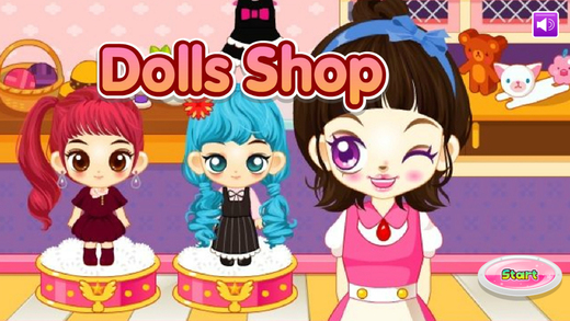 Doll Shop -Customize Your Dolls