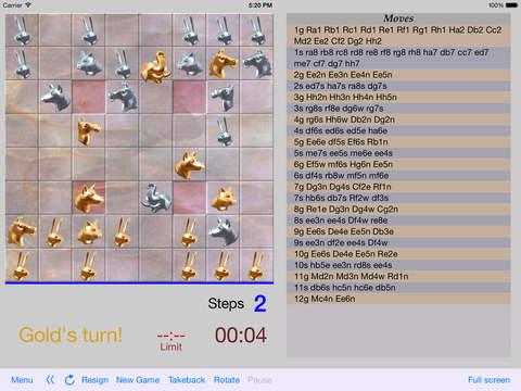 Arimaa Trainer iPad Screenshot 1