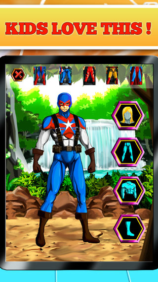 Create Your Own Superhero - Free Hero Character Costume Maker ...