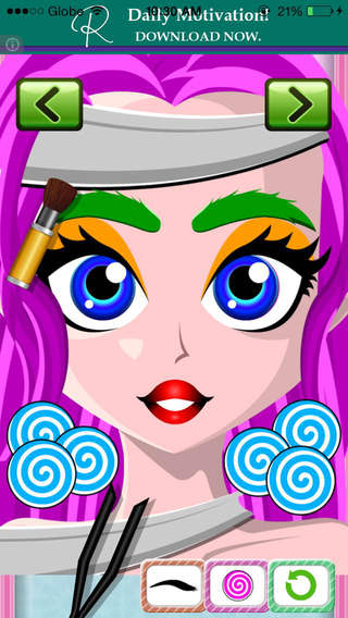 All Hairy Monsters Eyebrow Salon - Funny Beauty Spa Makeover Game for Kids Free
