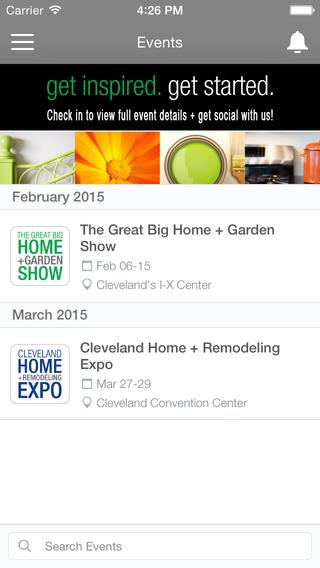 Home + Garden Events