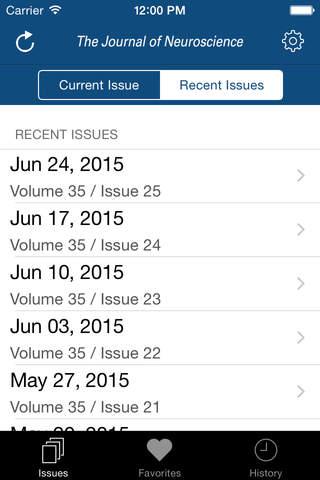 The Journal of Neuroscience screenshot 2