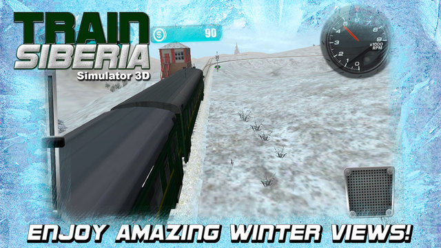 Train Simulator 3D: Siberia Screenshots