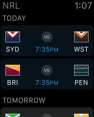 NRL Rugby League Live 2011 iPhone Screenshot 6
