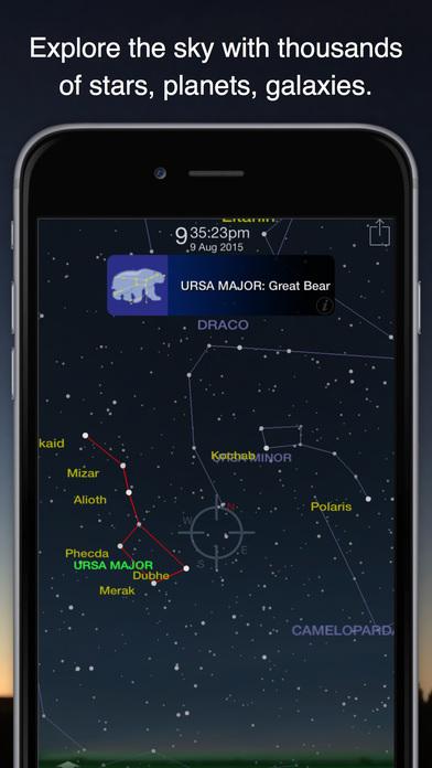 Pocket Universe: Virtual Sky Astronomy iPhone Screenshot 1