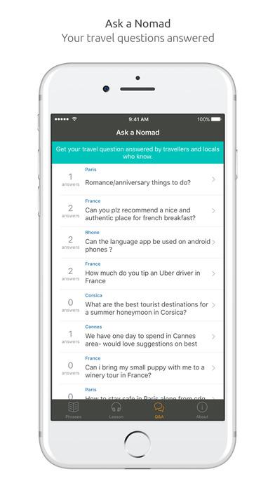 World Nomads French Language Guide iPhone Screenshot 5
