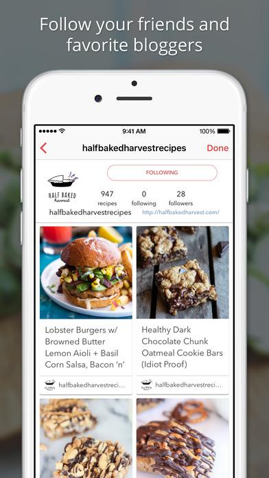 170,000+ Recipes - BigOven iPhone Screenshot 2