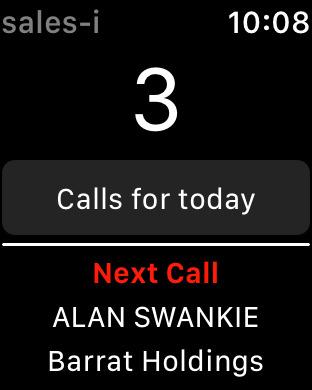 sales-i Mobile iPhone Screenshot 6