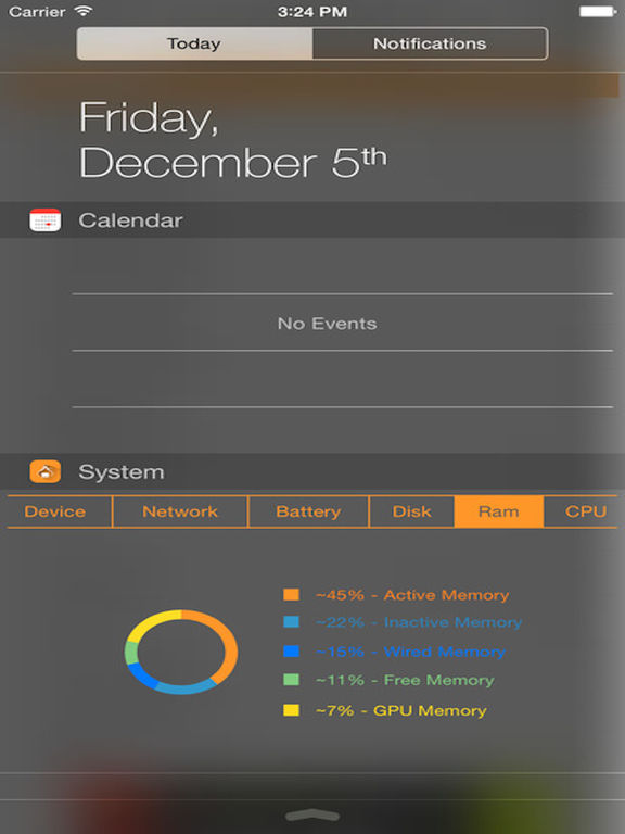 SysInfo Pro - System Stats and Information Widgets Screenshots