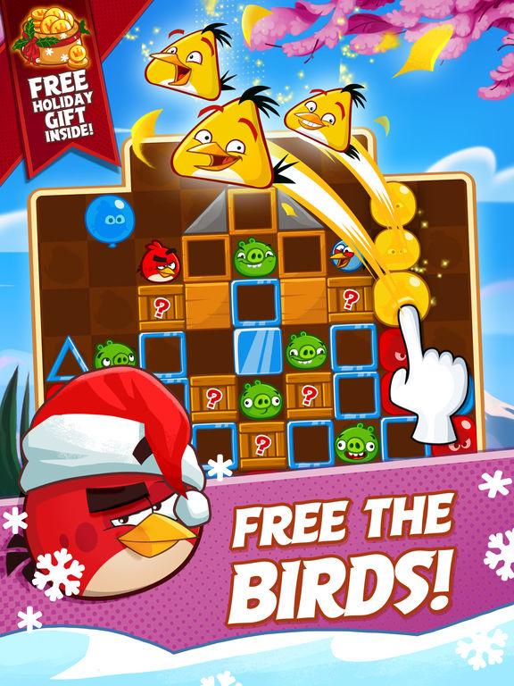 دانلود بازی جذاب Angry Birds Blast برای آیفون، آیپاد و آیپد - تصویر 0