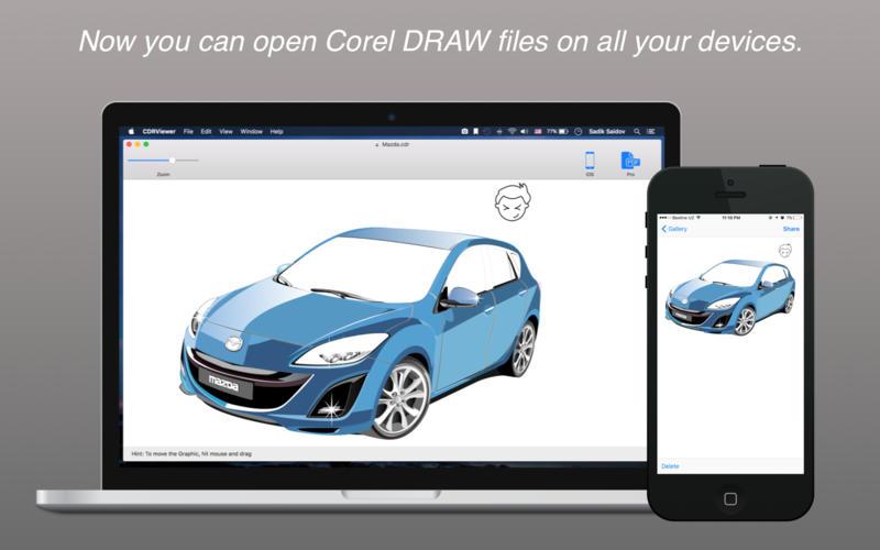 CDRViewer Pro for Mac 1.0 build 124 激活版 – CorelDRAW文件查看利器-爱情守望者