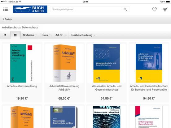 Buch & Mehr iPad Screenshot 3