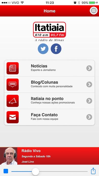 ITATIAIA AM/FM iPhone Screenshot 1