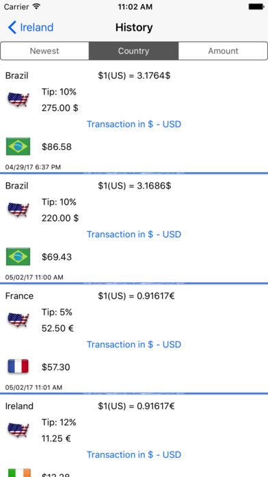 Tipping Abroad 10 screenshot