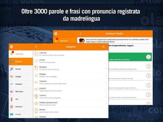 Imparare lo spagnolo rapidamente con MosaLingua Screenshots