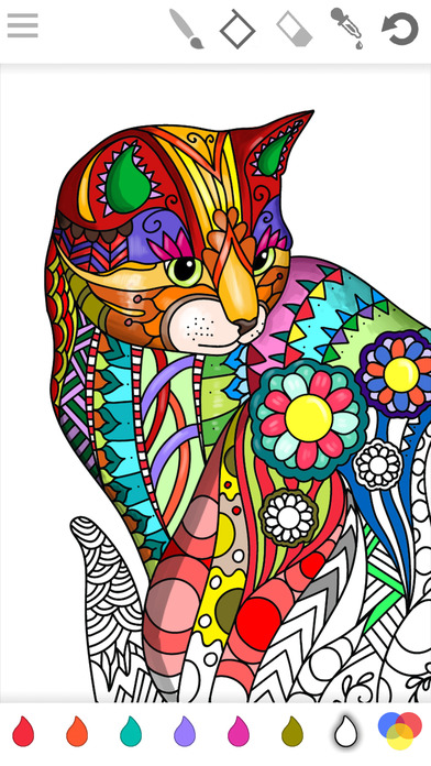 Colorish: coloring book for adults mandala relax on the App Store