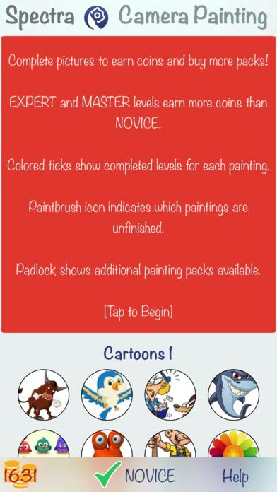 Spectra - Camera Painting Screenshot