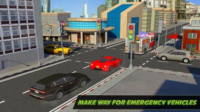 City Traffic Control Rush Hour Driving Simulator screenshot 3