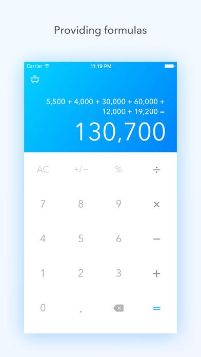 Basic Calc Pro - Calculator faithful to the basics Screenshots