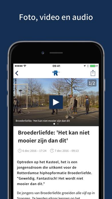 RTV Rijnmond Rotterdam iPhone Screenshot 3