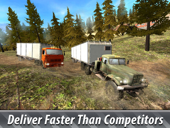 Offroad Cargo Truck Simulator 3D Full screenshot 7