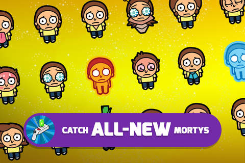 Rick and Morty: Pocket Mortys screenshot 3