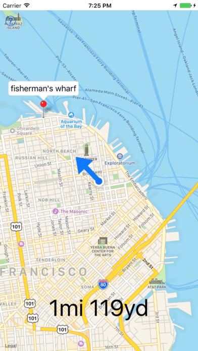 This Way - auto rotating map Screenshots
