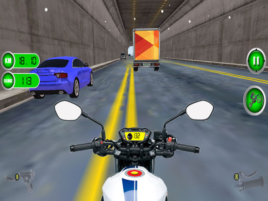Traffic Moto Racing 2017 Pro screenshot 10