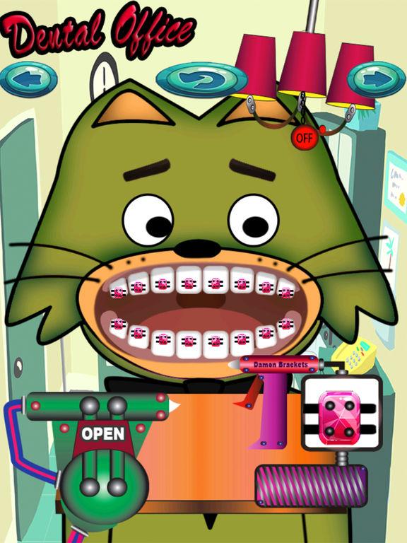 Dental office channel teeth Princess screenshot 5