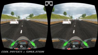 VR Трафик Велосипед Гонщик- Велосипедные гонки Скриншоты4