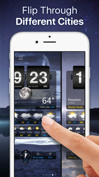 Weather+ Free iPhone Screenshot 4