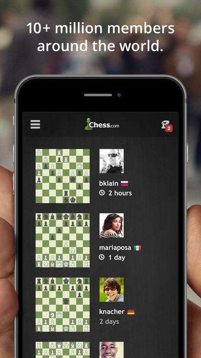 Chess.com - Play & Study Chess iPhone Screenshot 2