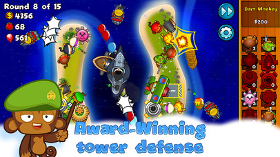 Bloons Monkey City screenshot 2