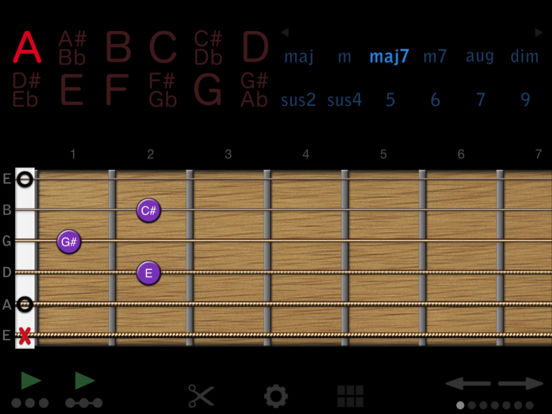 Guitar Chords iPad Screenshot 1