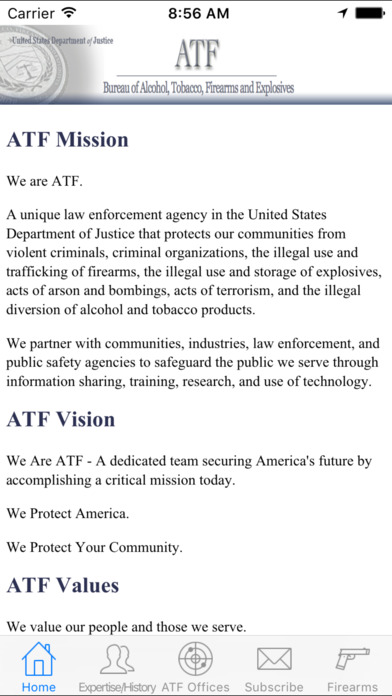 ATF iPhone Screenshot 1
